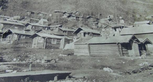 Dawson old cabins